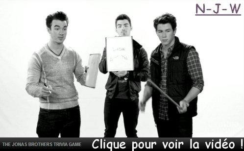 Jonas Brothers – Trivia Game