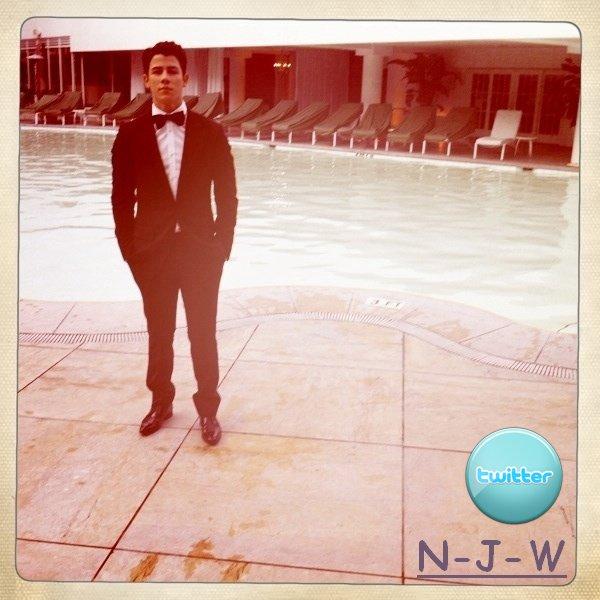 Nick a tweeté un message accompagné d'une magnifique photo.