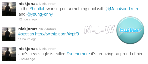 Nick Jonas news tweets