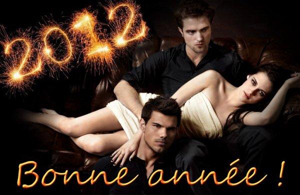 Bonne année 2012 avec twilight