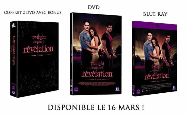 Découvrez les visuels français des 3 dvd de Révélation