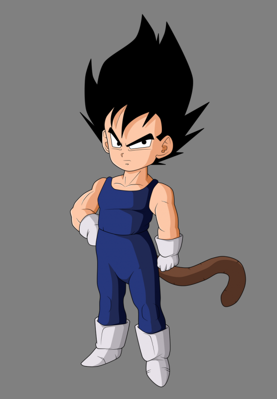 Vegeta Petit Goku Gohan Et Vegeta