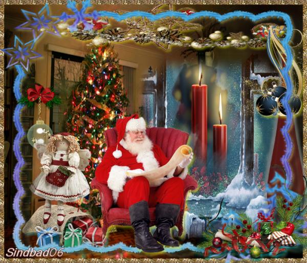 Gagnante du concours de Noël