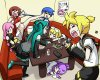 Les Vocaloid au karaoké! XD