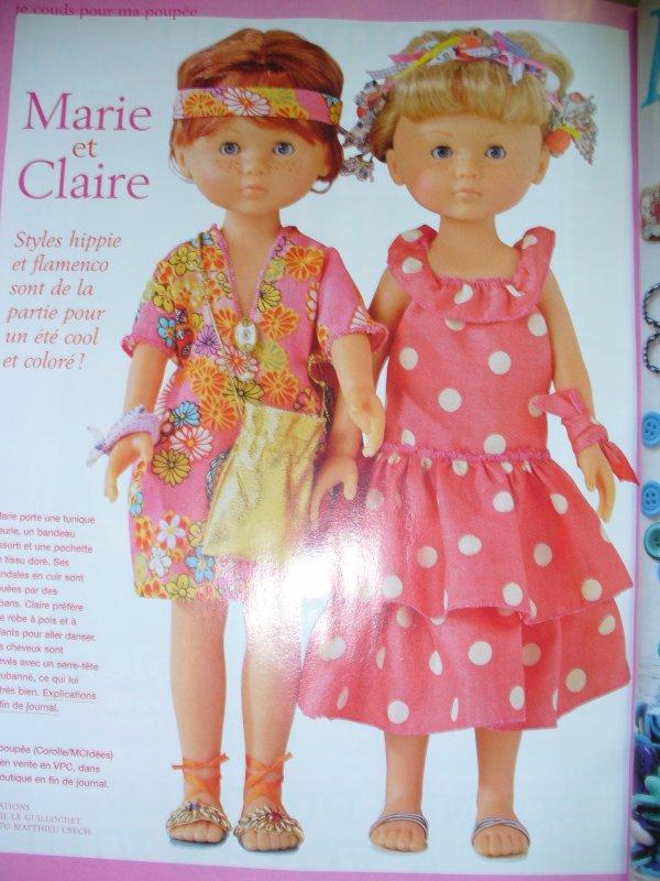 Marie Claire Idées et   MES petites chéries ! n°73 été 2009-