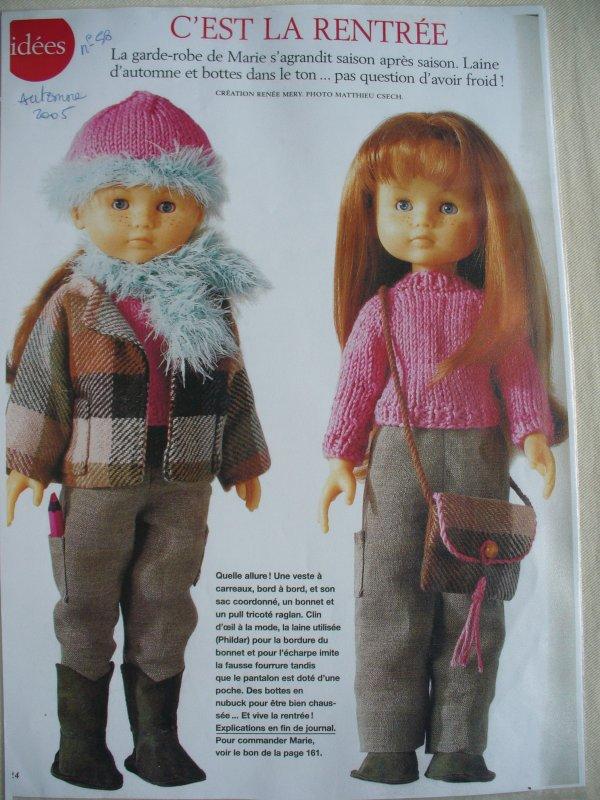 Marie Claire Idées et   MES petites chéries ! n°58- automne 2005-