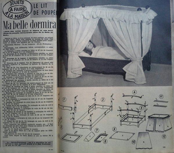 des idées pour le sommeil de nos poupées.!!! ...