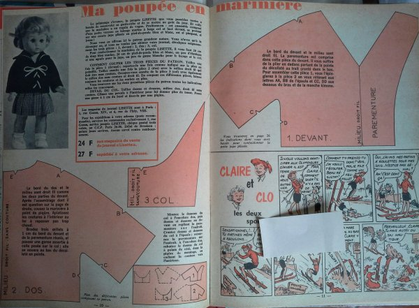Lisette en 1964 ....