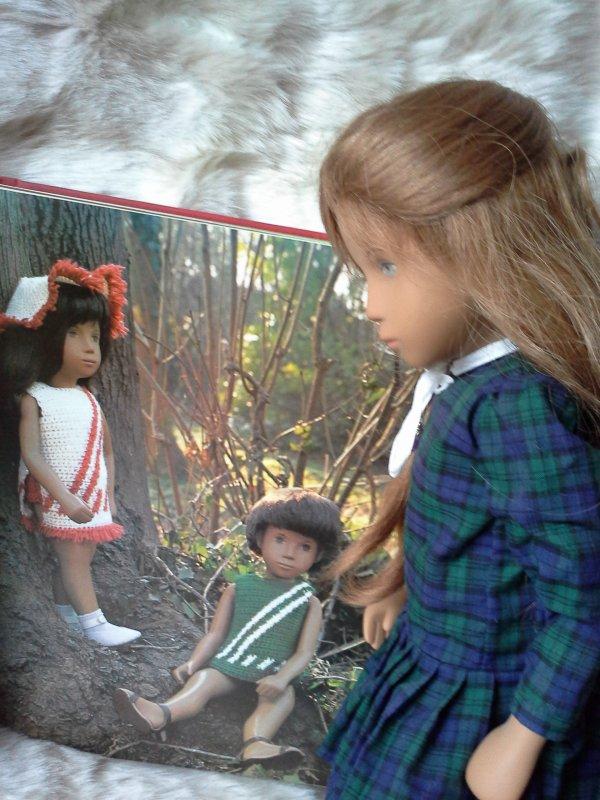 Tricoter pour Sasha ...! un coucou à Gene et à Sonialice !