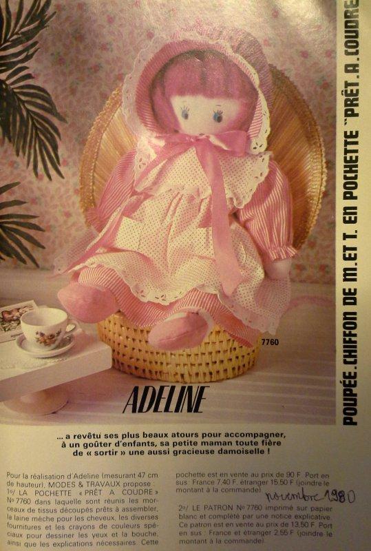 MODES & TRAVAUX -les poupées de chiffon -2-