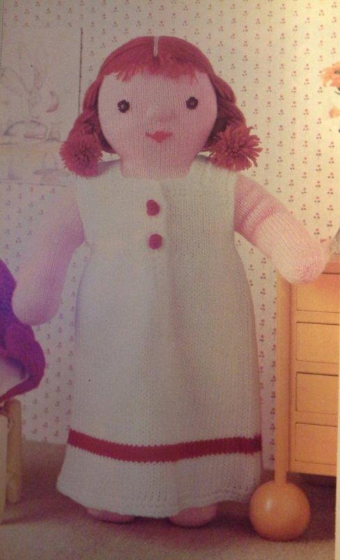 MODES & TRAVAUX -Clothilde- poupée de laine ...