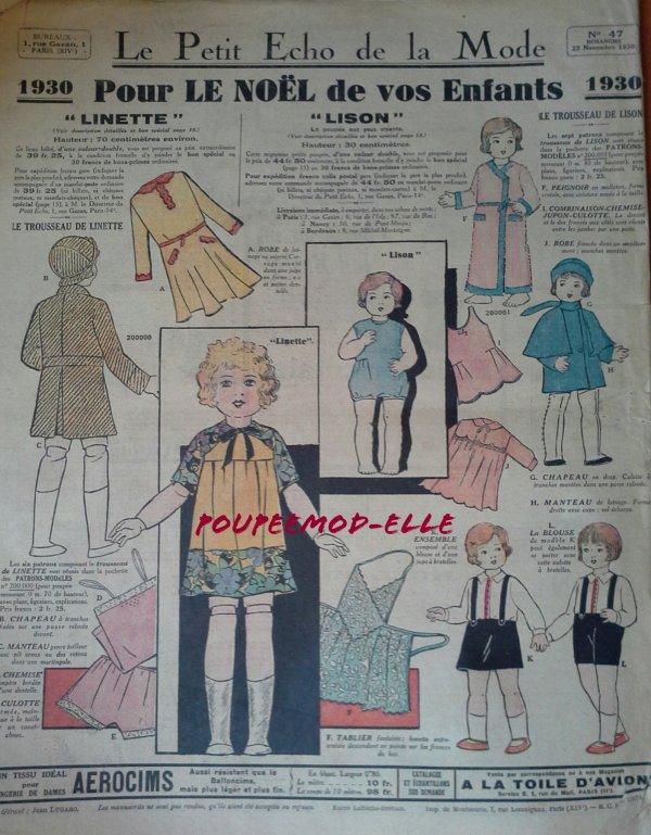 Le petit écho de la mode et ses poupées ..-1-