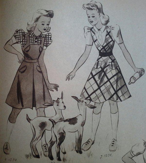 Yvette et Mode du jour ....