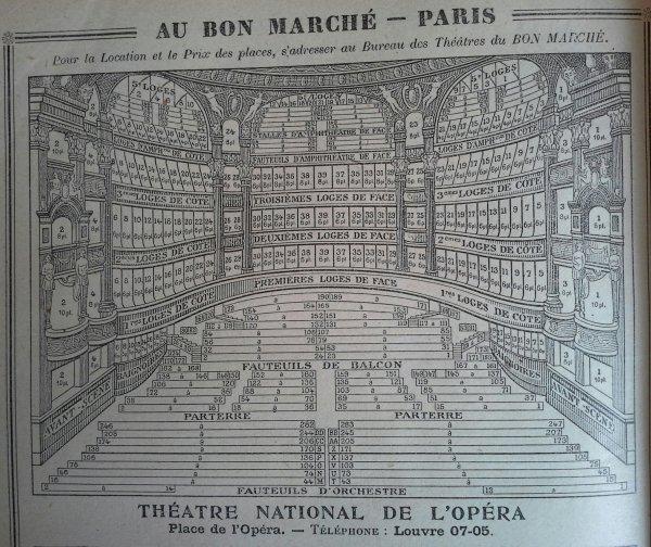 Délicieux agenda du Bon Marché ....1/2