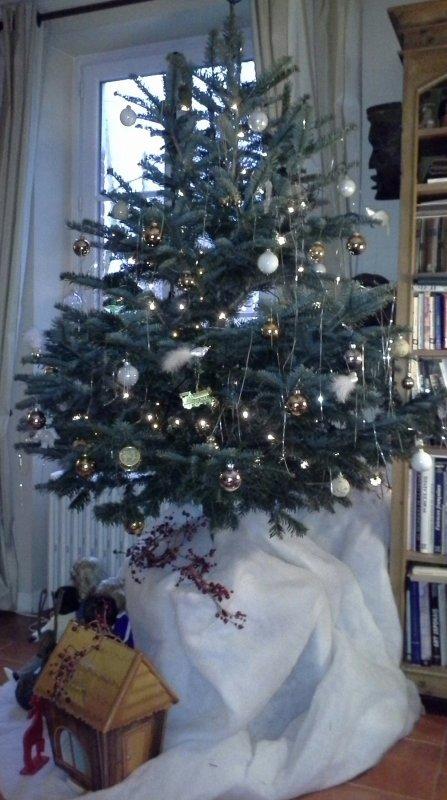 En Avent ...le sapin est décoré ..!!