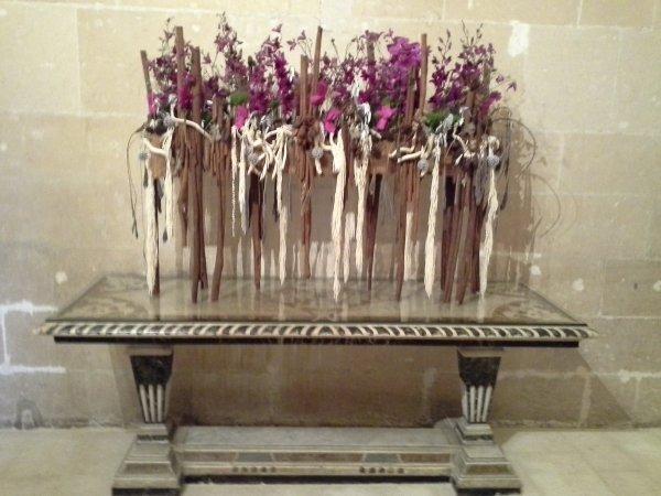 Les fleurs à Chenonceaux, c'est tout un art  -4/5- un coucou à Percaline !