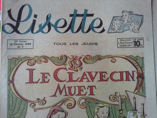 Et encore du Lisette ..!!!