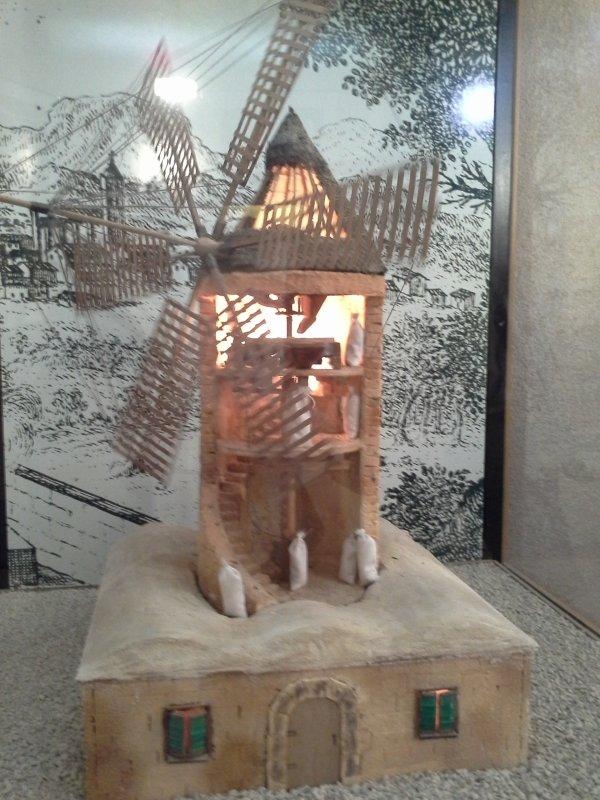 A Palma, il y a encore des moulins..!-