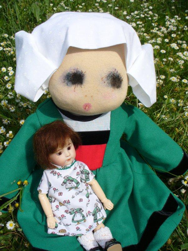 Loulotte et le musée de la poupée. .
