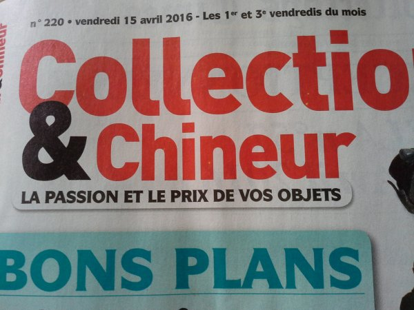 Collectionneur-chineur du 15 avril 2016...Minouche &Co...!!!!