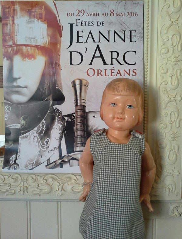 le 8 mai, Jehanne est à l'honneur à Orléans...