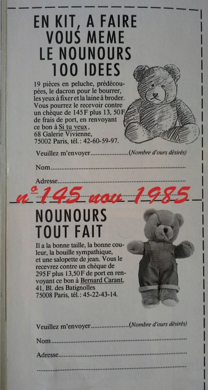 L'ours tout fait de 100 idées, cousin de Benjamin !!!!-1-