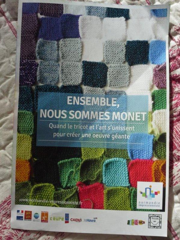 Retour sur L'Aiguille en fête 2017-10- Monet et cousu main y étaient aussi !!...