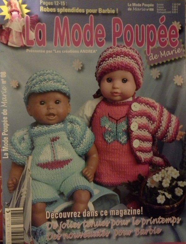 La mode poupée de Marie nº8 ...