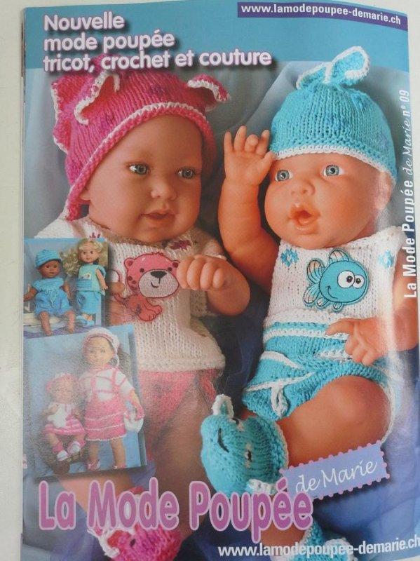 La mode poupée de Marie nº9...des surprises !!!!