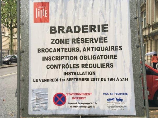 Aujourd'hui c'est...grande braderie a Lille !!!