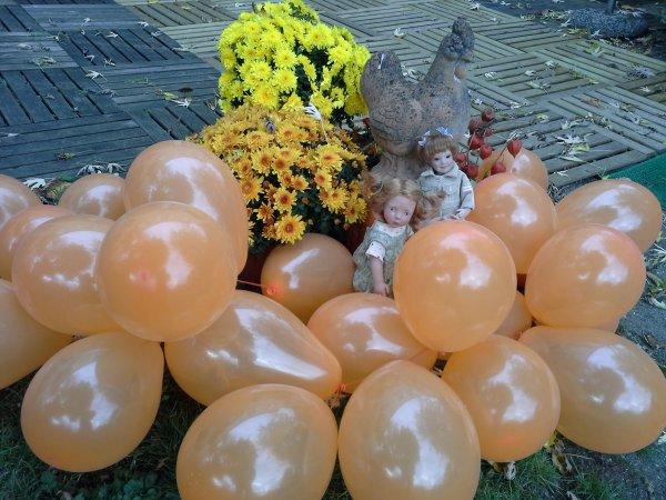 En attendant Halloween fin -3-les poupettes de ma poulette ..!...!!!