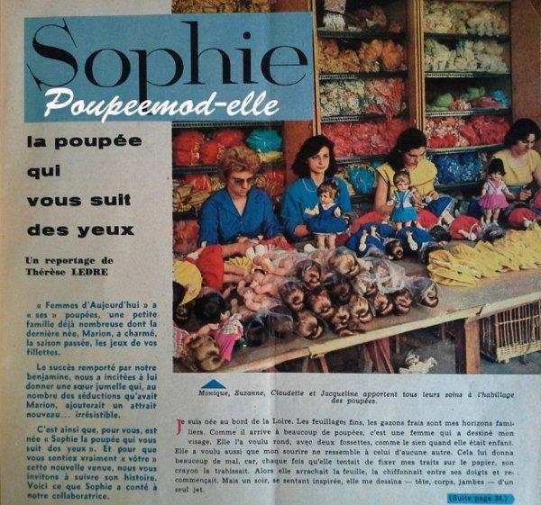 Message pour gentil visiteur à propos de Sophie