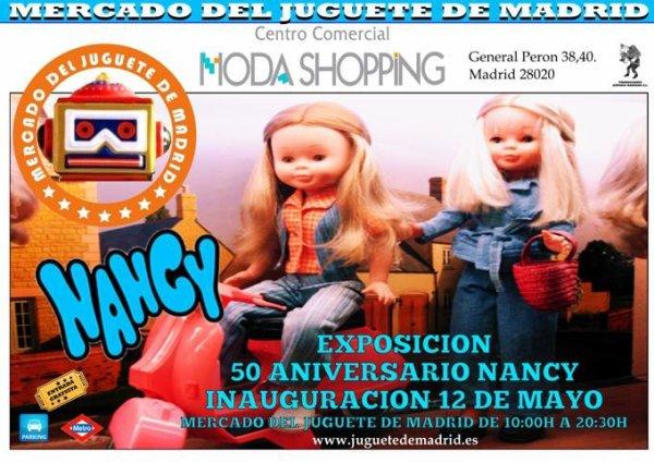 Nancy fête joyeusement ses 50 ans à Madrid  !!!! 1/2