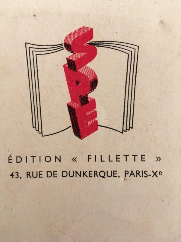 Premiers ouvrages de Fillette ...