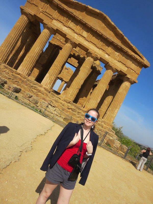 Voyage Sicile de ma fille