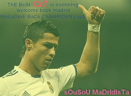 real madrid + c.ronaldo 9 = is the best ♥ Don CR7 ♥ Super Hattrick ♥
