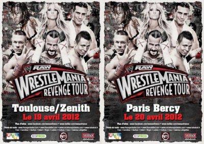 Raw Wrestlemania Revenge Tour