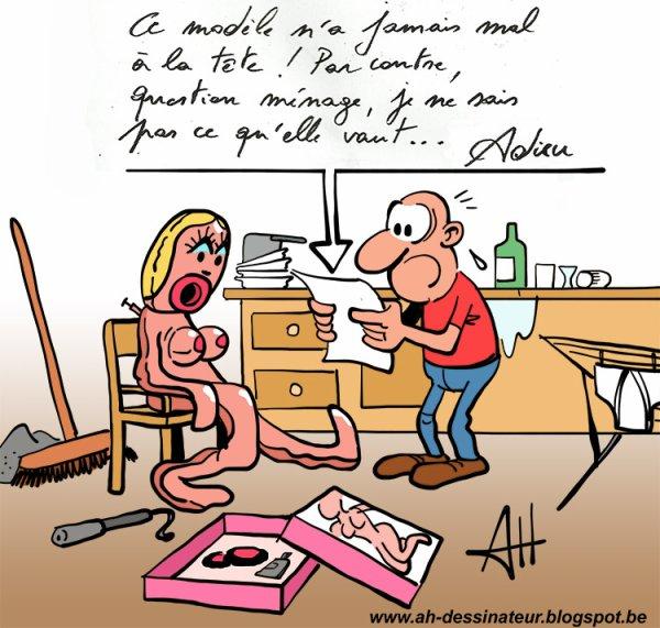 AH dessinateur !...