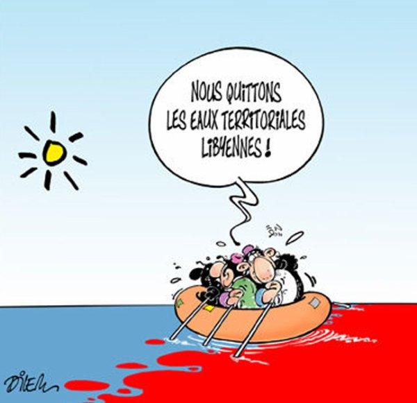 Le dessin du jour par Ali Dilem !...