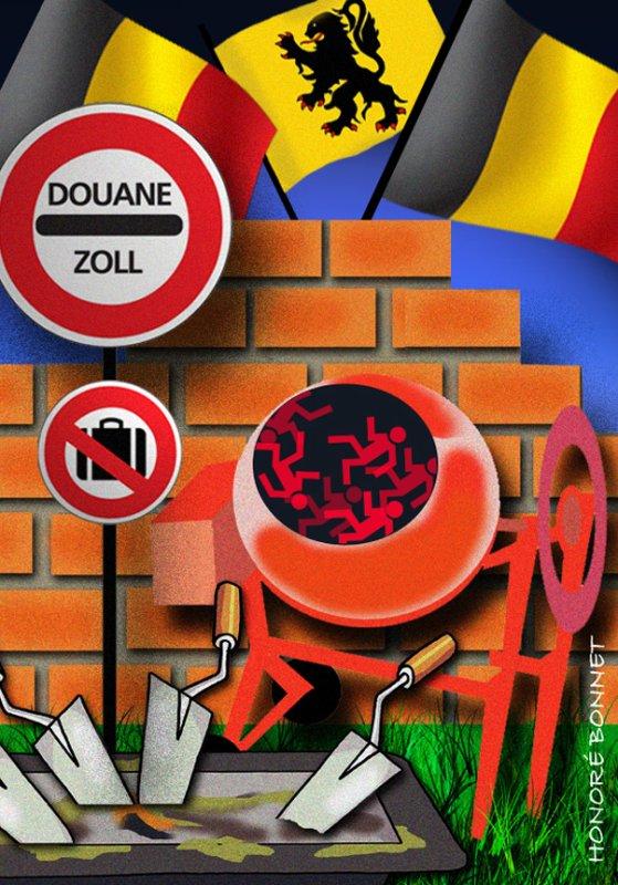 """Spécial """"CALAIS démantélement, pas de """"jungle"""" en Belgique."""" - Image n° 3/3 !..."""