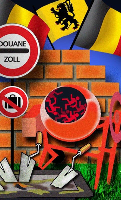 """Spécial """"CALAIS démantèlement, pas de """"jungle"""" en Belgique."""" - Image n° 2/3 !..."""