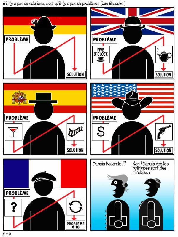 """Spécial """"PAS DE SOLUTIONS, PAS DE PROBLÈMES"""" - Image n° 2/2 !..."""