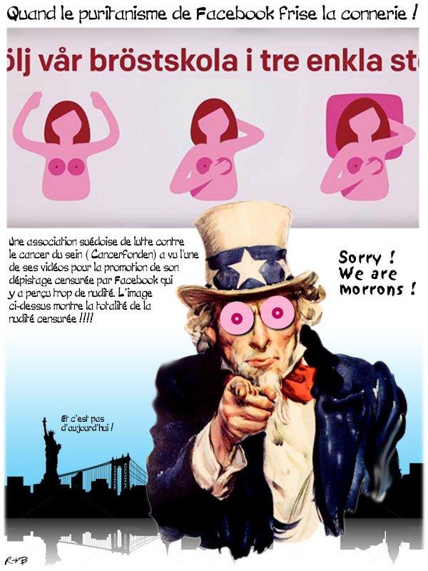"""Spécial """"Cancer du sein : une nouvelle censure de Facebook"""" - Image n° 2/2 !..."""
