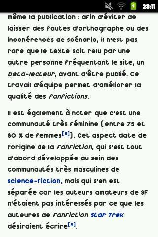 Fanfiction ...