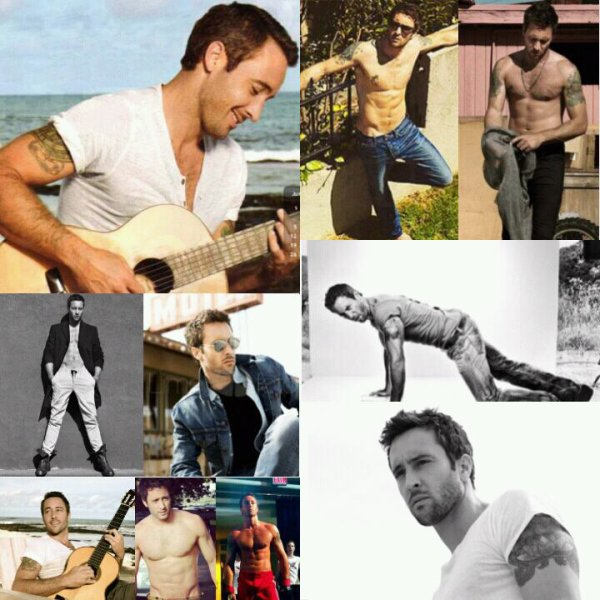 Alex O'Loughlin < 3