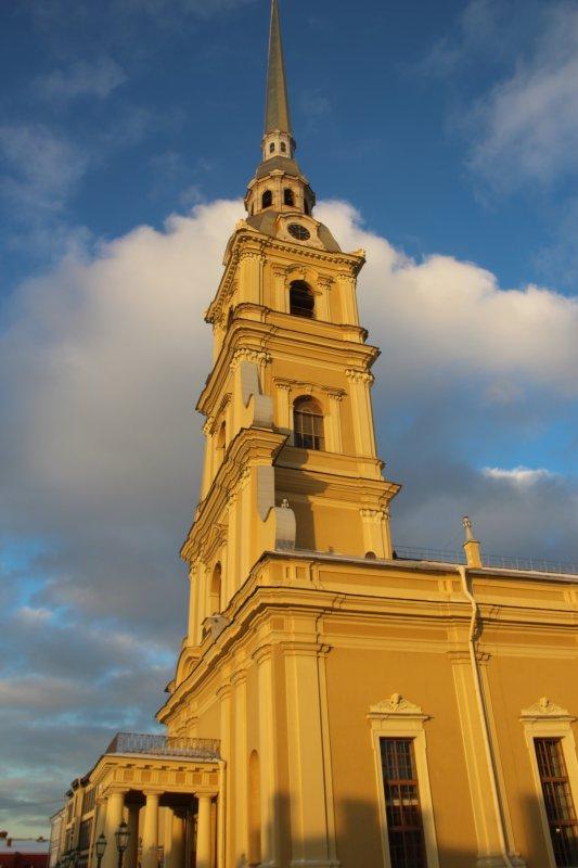Meilleurs Voeux de ST-Petersbourg.