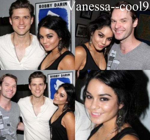 "29 mai 2011 ~ Vanessa dans les backstage de ""Catch Me if You Can"""