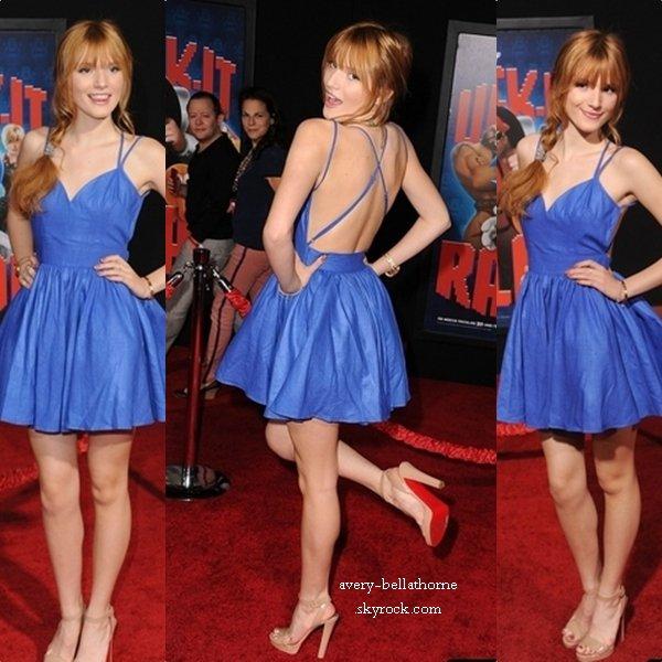 """Bella thorne à la première du film Disney """"Wreck-It Ralph"""" le 29 octob 2012"""