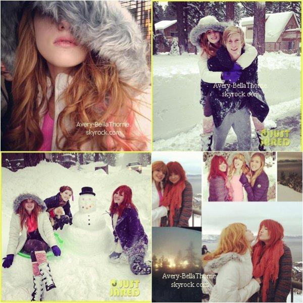 Nouvelles photos de bella et sa famille au lac tahoe le 29 décembre .