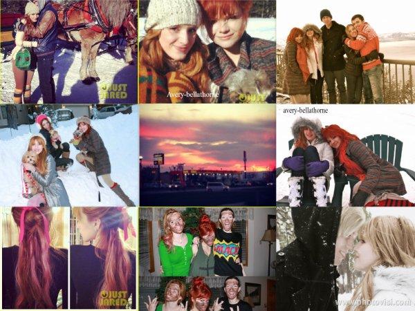 Nouvelles photos des vacances de Bella et sa famille au Lac Tahoe en décembre 2012.